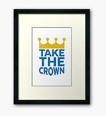Take the Crown Framed Print