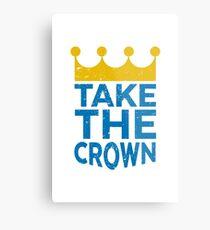 Take the Crown Metal Print