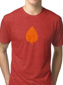 Cute autumn leaf Tri-blend T-Shirt