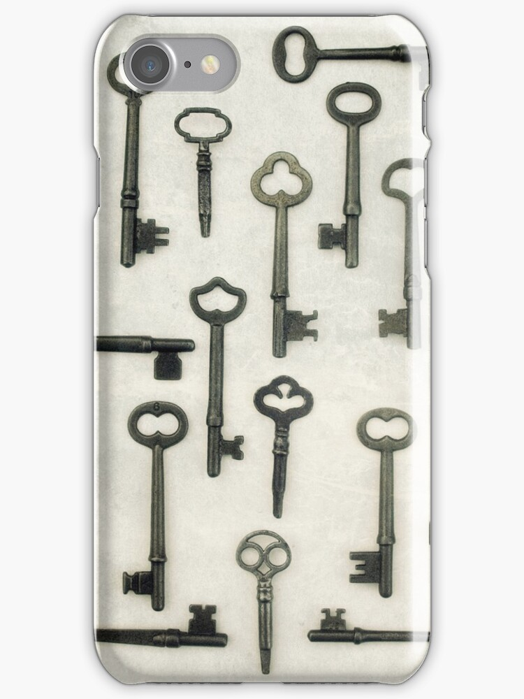 The Key Collection IPhone Case by JillianAudrey