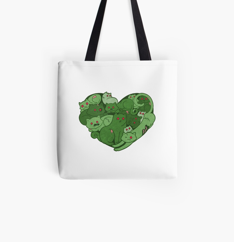 Love Bites All Over Print Tote Bag