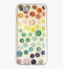Vintage Button Gradient iPhone case iPhone Case/Skin