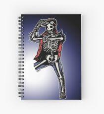 Marty Mcfly BTTF zombiecraig. Spiral Notebook