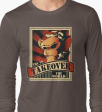 Take over the world Long Sleeve T-Shirt