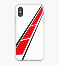 YAMAHA (Red on White) iPhone Case