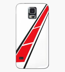 YAMAHA (Red on White) Case/Skin for Samsung Galaxy