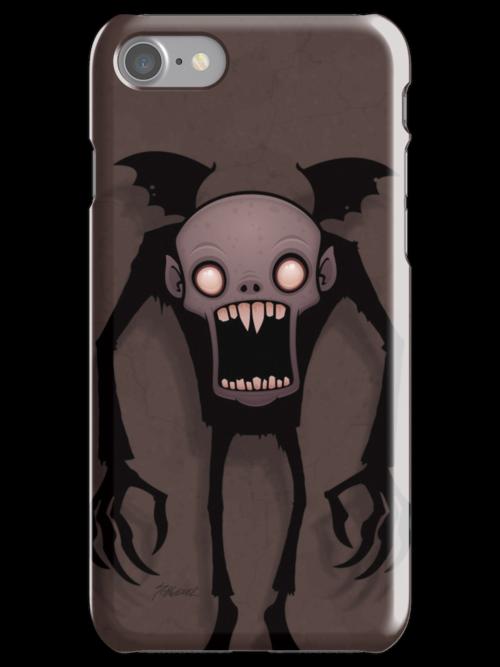 Nosferatu iPhone Case by fizzgig