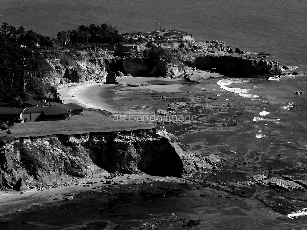 Coastal Monochrome ~ Part Two by artisandelimage
