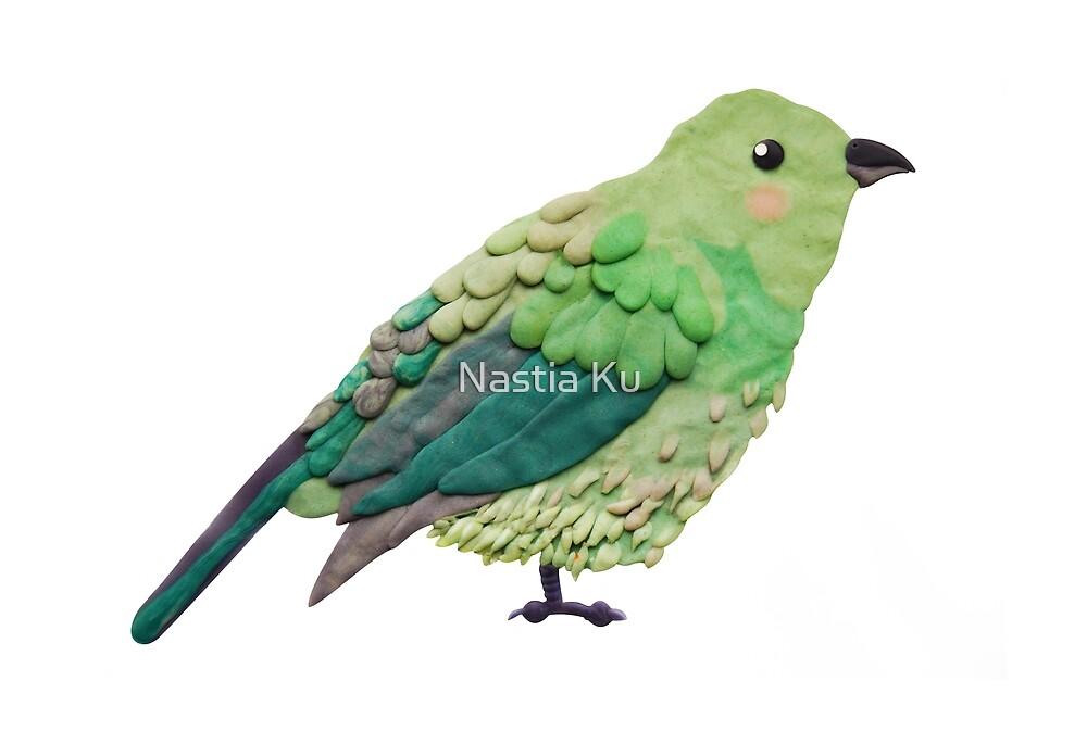 Plasticine bird by ychty