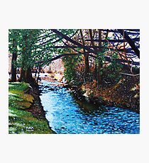 'The Slow Pull of an Easy River' Photographic Print