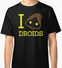 I heart Droids Classic T-Shirt