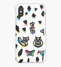 Rainbow Anigami Composition iPhone Case/Skin