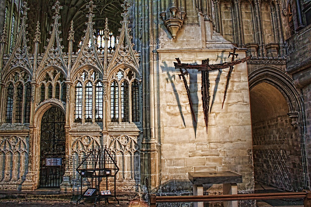 Canterbury Cathedral - The Martyrdom by Dave Godden