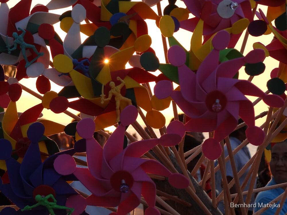 Pinwheels - Ventiladores  by Bernhard Matejka