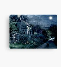 The Witches House Canvas Print