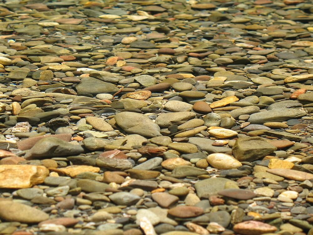river rocks by jbeebe