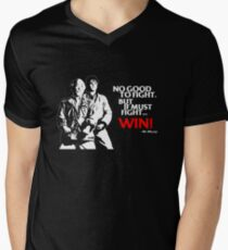Karate Kid - No Good to Fight Mens V-Neck T-Shirt