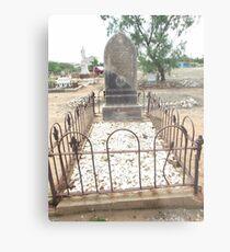 grave Charters Towers Pioneer Cemetery Metal Print