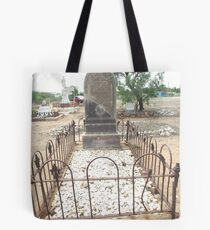 grave Charters Towers Pioneer Cemetery Tote Bag