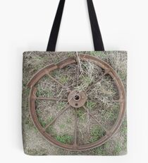 part of old machinery - charters towers, queensland, australia Tote Bag