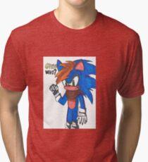 Guess who? Tri-blend T-Shirt