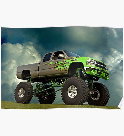 2002 Chevrolet Monster Truck Poster