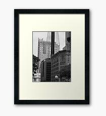 Sydney - Streetscape 2 Framed Print