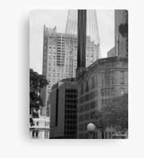 Sydney - Streetscape 2 Metal Print