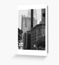 Sydney - Streetscape 2 Greeting Card
