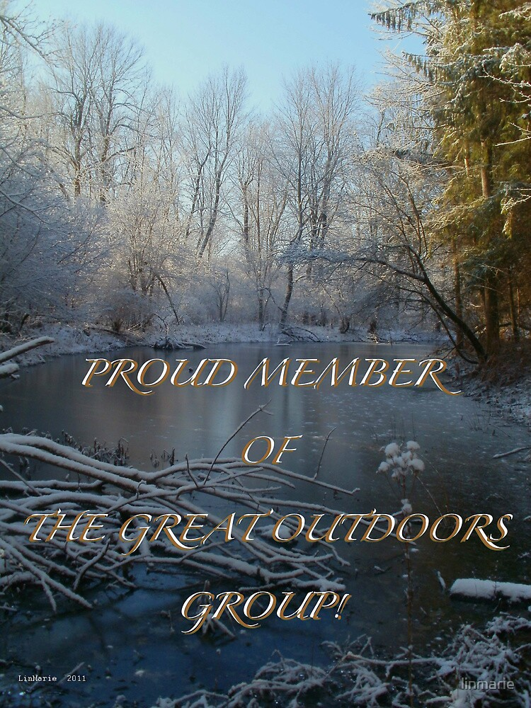 MEMBER BANNER FOR THE GREAT OUTDOORS GROUP! by linmarie