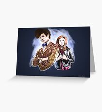 Doctor & Pond Greeting Card