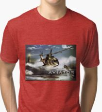 EH-101 Merlin Helicopter Tri-blend T-Shirt