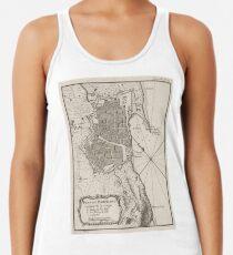 3e11219d Vintage Map of Barcelona Spain (1764) Women's Tank Top