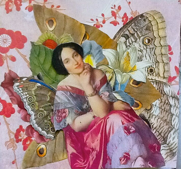 Madame Butterfly by Kanchan Mahon