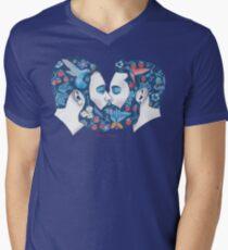 Bärte in der Liebe V-Neck T-Shirt