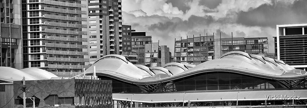 Melbourne rooflines- Southern Cross station by Vicki Moritz