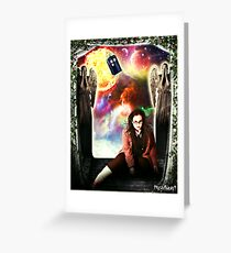 Female Doctor Who Greeting Card