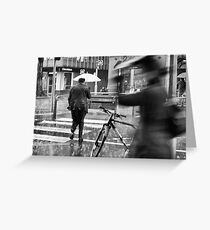 Collins St, Winter Greeting Card