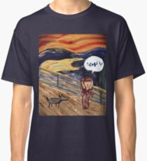 The Scream- Arabic Version Classic T-Shirt