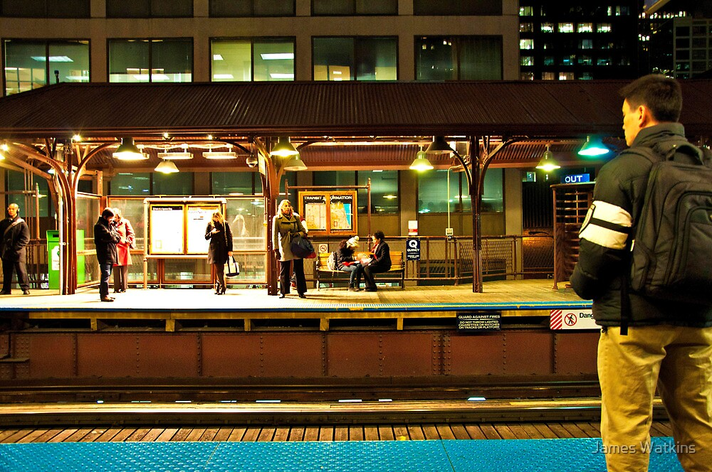 Quincy Station, Monday Night by James Watkins