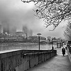 Melbourne Winter, Southbank by Vicki Moritz