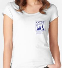 The Organization of Cartographers for Social Equality Women's Fitted Scoop T-Shirt