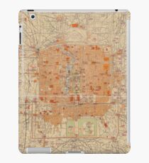 Vintage Map of Beijing China (1907) iPad Case/Skin