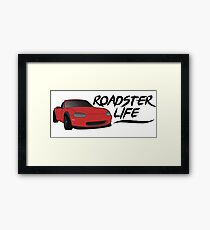 NB Mazda Miata - Roadster Life Framed Print
