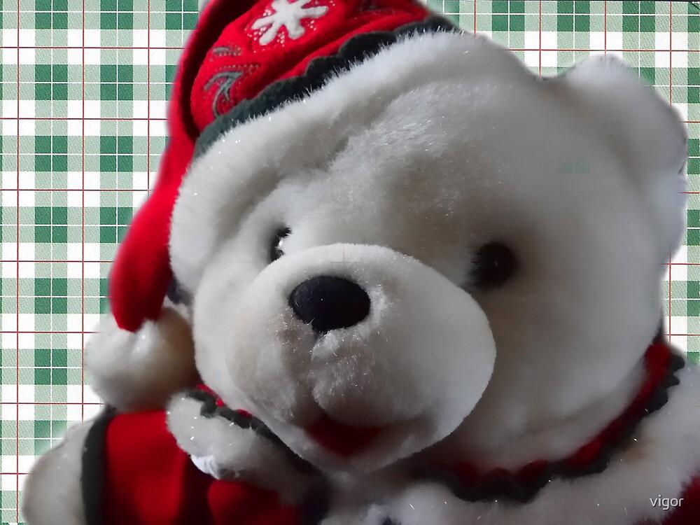 Christmas Bear by vigor