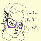 Purplish Specs by Jaelah