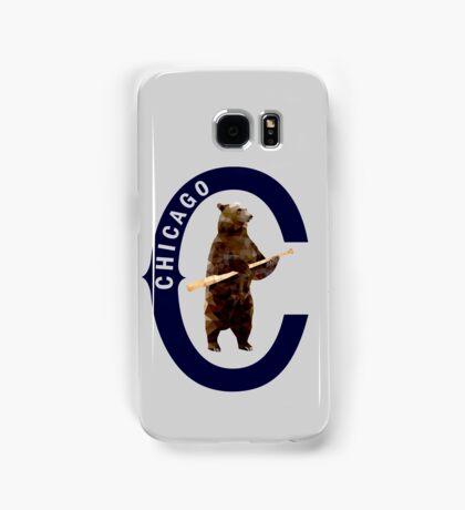 Bear with Bat - Polygonal Samsung Galaxy Case/Skin