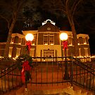Morgan County Courthouse at Christmas by Kent Nickell