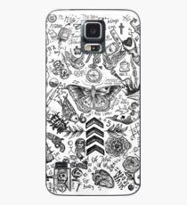 One Direction tattoos Case/Skin for Samsung Galaxy