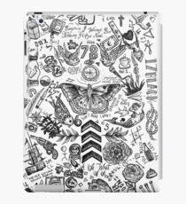 One Direction tattoos iPad Case/Skin
